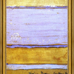 "James McNeill Whistler-16""x24"" Framed Canvas - 16"" x 24"" James McNeill Whistler Colour Scheme for the Dining-Room of Aubrey House framed premium canvas print reproduced to meet museum quality standards. Our museum quality canvas prints are produced using high-precision print technology for a more accurate reproduction printed on high quality canvas with fade-resistant, archival inks. Our progressive business model allows us to offer works of art to you at the best wholesale pricing, significantly less than art gallery prices, affordable to all. This artwork is hand stretched onto wooden stretcher bars, then mounted into our 3"" wide gold finish frame with black panel by one of our expert framers. Our framed canvas print comes with hardware, ready to hang on your wall.  We present a comprehensive collection of exceptional canvas art reproductions by James McNeill Whistler."