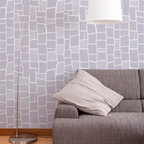 Mosaic Wall Stencil - Moasaic Wall Stencil from Royal Design Studio Stencils. This hand painted, allover, mosaic tile pattern can be used on walls, furniture, fabric and floors. Goes well with vintage, traditional , retro and cottage styles.