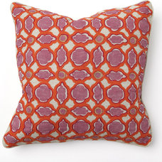 Eclectic Decorative Pillows by villahomecollection.com