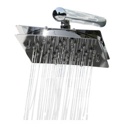 n/a - Time Square Rain Shower Head - ONLY - Time Square Rain Shower Head Only- 51 Shower Jets.