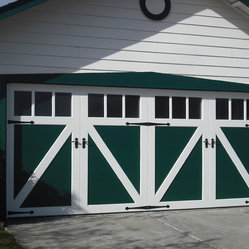Garage Door Install The New Install On A Steel Carriage