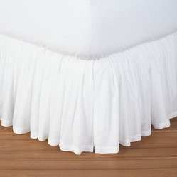 Voile Bed Skirt