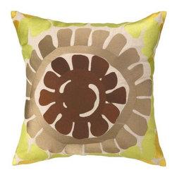 """Trina Turk - Trina Turk La Jolla Embroidered Pillow  20 x 20 - Beautiful Trina Turk La Jolla embroidered pillow 20"""" x 20"""""""