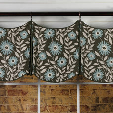 Eclectic Curtains by Pate Meadows Designs