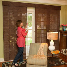 Traditional Vertical Blinds by Blinds Chalet