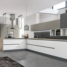 Modern Rendering by Eurolife Kitchens Wardrobes Architectural Joinery