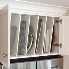 awkward space above your fridge? Turn it into a ...