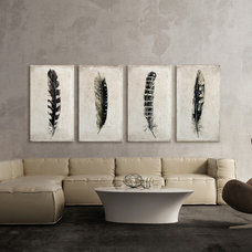 Contemporary Living Room by Great Big Canvas