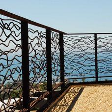 Beach Style Patio by Gerardi Design