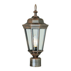 Transglobe - Trans Globe 4096 RT Post Lantern - Rust - 8W in. Multicolor - 4096 RT - Shop for Posts from Hayneedle.com! What's more inviting than coming home to the twinkling inviting light from the Transglobe 4096 RT Post Lantern - Rust - 8W in. ? The sturdy metal body has a finish that gives it the look of weathered rust and clear glass shades protect the single 100-watt medium base bulb while it lights your porch or yard.About Trans Globe Lighting Inc.Born from the hopes and dreams of two entrepreneurial spirits in 1986 Trans Globe Lighting offers one of the most comprehensive and stylish collections of residential lighting in the world. This family-owned company based in North Hollywood Calif. is marked by personal involvement with a wide variety of products available at the lowest prices. From traditional to ultra-contemporary in style Trans Globe has just the right light for you.