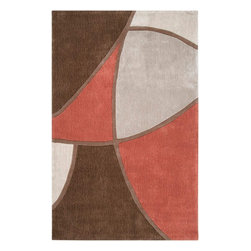 Surya - Surya COS8887-23 Cosmopolitan Contemporary Hand Tufted Rug - Great contemporary designs with a bright color palette and a price in reach of every buyer. Hand tufted from poly-acrylic fibers, these rugs will not shed. Our Cosmopolotan Collection is a beautiful addition to any decor.