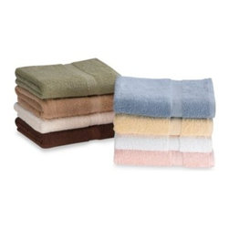 Simply Soft - Simply Soft Bath Towel - These attractive towels come in warm, solid tones. The towels are very absorbent and have a combed, low twist for extra softness.