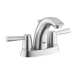 """Grohe - Grohe Arden Two Handle Lavatory Faucet 4 Centerset (20388000) - Grohe 20388000 Arden Two Handle Lavatory Faucet 4"""" Centerset"""