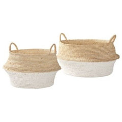 traditional baskets by Serena & Lily