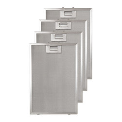 """Replacement Filter for 42"""" Villa Series Wall-Mount Range Hood - Revel in a fresher cooking environment with these replacement filters for 42"""" Villa Series Wall-Mount Range Hood."""