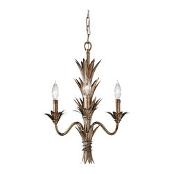 Murray Feiss - Stardust Flora 3 Light 1 Tier Mini Chandelier - Lamping Technologies: