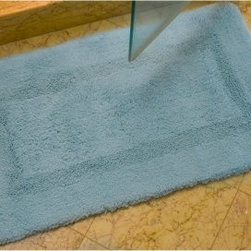 Safavieh First-Class Bath Mat - Step out of the shower and onto something special with Safavieh First-Class Bathmats on your floor. This incredibly thick and comfy mats feature machine-made 2400g cotton in your choice of neutral colors. Each has a non-slip backing for added safety.About Safavieh Safavieh is a leading manufacturer and importer of fine rugs. Established in 1914 in the capital of Persian weaving masters, the company today brings three generations of knowledge and experience to its award-winning collections. In the United States since 1978, Safavieh has been a pioneer in the creation of high-quality hand-made rugs, a trend that revolutionized the rug business in America. Its collections range from the finest antique and historical reproductions to the most fashion-forward contemporary and designer rugs.