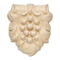 Hafele - Bordeaux Traditional Carved Onlay - Hand carved.