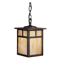 Kichler Lighting - Kichler Lighting 9849CV Alameda 1 Light Outdoor Pendants/Chandeliers in Canyon V - Outdoor Pendant 1Lt