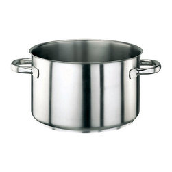 Paderno World Cuisine - Stainless Steel 2 7/8 Quart Sauce Pot, No Lid - The versatile 2 7/8 quart sauce pot is suited for blanching vegetables and fruits and heating or re-heating liquids, stews and sauces. It is induction compatible.