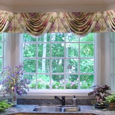 Transitional Window Treatments by Golden Interiors