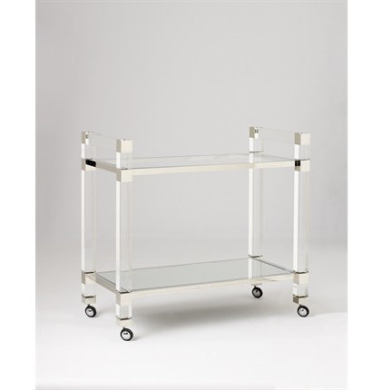 contemporary bar carts by Jan Showers