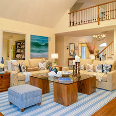 Traditional Family Room by Smith Firestone Associates