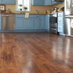 Vinyl Wood Floors - Coffee Maple