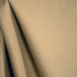 Blair Flax Solid Tan Real Linen Drapery Fabric By The Yard - Blair Flax is a softer solid tan fabric. Great for bedding, light upholstery and draperies.