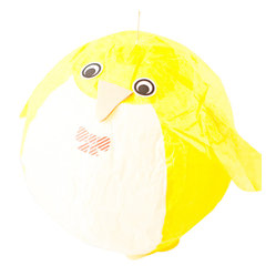 kuramae - Penguin Paper Balloon, Yellow - You'll want to let this dapper little guy — and all his friends — march into your room. Each paper balloon can be blown up and reused time and again. A colony of these would make great party decorations. They already come in formal attire!