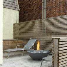 Modern Fire Pits Miso Concrete Firepit by Paloform