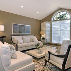 Eclectic  by Bruce Johnson & Associates Interior Design
