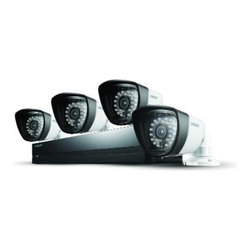 Samsung - Samsung SDS-P3042 4 Channel DVR Security System, 4 Channel - Features: