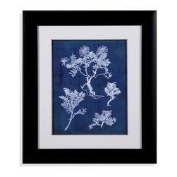 Bassett Mirror - Bassett Mirror Framed Under Glass Art, Nature's Imprint II - Nature's Imprint II