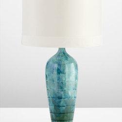 Cyan Design - Elysia Table Lamp - Elysia table lamp - blue glaze