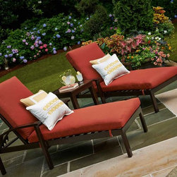 Outdoor Funiture - Outdoor Furniture (All-Weather Wicker & Hand-Painted Aluminum) - For more information and details about purchasing outdoor furniture from Valley City Supply, please contact us at 330-483-3400 or visit our website at ValleyCitySupply.com