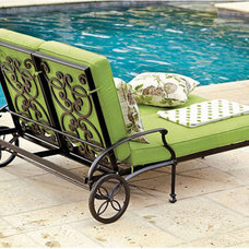 Traditional Outdoor Chaise Lounges by Ballard Designs
