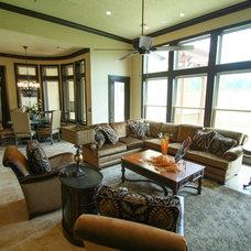 Mediterranean Living Room by Origin Architects