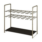 Organize It All - Stackable Shoe Rack - Our Organize It All Stackable Shoe Rack is free standing making it versatile to use in any room such as the mudroom, entry way, closet, garage, or bedroom. This unit organizes and keeps your boots in place, in shape, and off the floor. Also perfect for dorms, apartments, and areas with limited space.