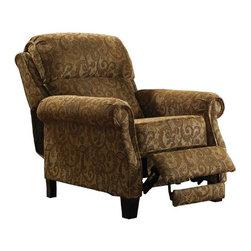 Jackson Furniture - Ellington Reclining Chair in Oak - 4260-11 - Ellington Collection Reclining Chair