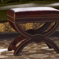 Traditional Ottomans And Cubes by Pierre Deux -- CLOSED