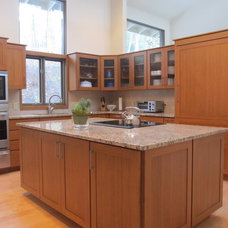 Contemporary Kitchen Cabinetry by Tom Murphy