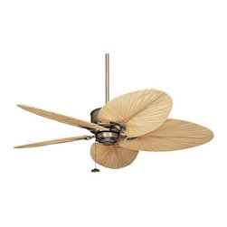 Emerson Electric Maui Bay Ceiling Fan - Oh, take me to Maui. I know this fan can't really take you there, but if you are craving some tropical style, this fan is for you. You can pick from a bunch of different shaped blades with this model.
