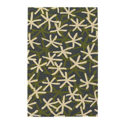 "Emma At Home EMM19913 Designer Rug - 5' x 7'6"" - Award-winning designer Emma Gardner, chief designer and principal at emma gardner design, has been creating striking and vibrant rugs for consumers, interior designers and architects since 2002 from her Litchfield, Connecticut studio."