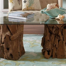 Tropical Coffee Tables Driftwood Coffee Table
