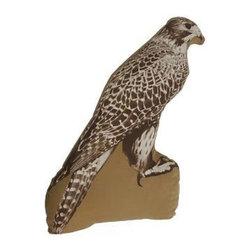 Ross Menuez Falcon Large Pillow - Ross Menuez Falcon Large Pillow