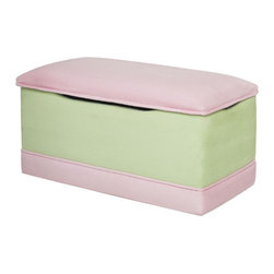 Hannah Baby - Deluxe Toy Box - Our Deluxe Toy Box featured in soft, easy to clean micro fiber and accented with Sherpa trim, is a beautiful space to store your child's toys and keepsakes. It is hand crafted in the USA! Features: -Durable hard wood frame.-Protects the lid from closing unexpectedly.-Cleans easily with mild soap and water.-Washable micro fiber suede.-Great addition to any child's room.-Ages 2-7.-Collection: Deluxe.-Distressed: No.-Country of Manufacture: United States.Specifications: -For utmost safety toy boxes feature 2 hinges and 3 air vents.Dimensions: -Overall Product Weight: 40 lbs.