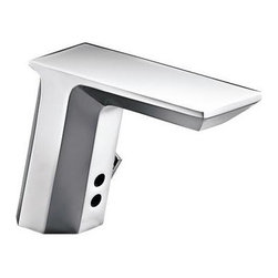 """Kohler - Kohler K-7517-CP Polished Chrome Touchless Touchless Single Hole - Product Features:Fully covered under Kohler s limited lifetime faucet warrantyFaucet body constructed of solid brassKohler finishes resist corrosion and tarnishing - exceeding industry standards for durabilityFeaturing an adaptive infrared sensor that gathers and analyzes the surrounding area upon installationAfter recording area details faucet calibrates to reduce false starts and optimize operationTouchless DC-powered, motion activated operationDrain assembly not included with this model - must be ordered separatelyADA compliantLow lead compliant - meeting federal and state regulations for lead contentDesigned for use with standard U.S. plumbing connectionsWaterSense-labeled product - uses at least 30% less water than standard 2.2 GPM faucets, while still meeting strict performance guidelinesFeatures and extra-secure mounting assemblyAll hardware needed for mounting is includedProduct Technologies / Benefits:WaterSense/Eco-Performance: To help make a difference on a global scale and further its role as industry leaders in eco-performance practices, Kohler has established partnerships with a number of environmental organizations, including WaterSense. Many Kohler faucets are equipped with low-flow aerators; meaning they use less water, while continuing to meet superior performance standards. Product Specifications:Overall Height: 5-7/16"""" (measured from the counter top to the highest part of the faucet)Spout Height: 4-3/16"""" (measured from the counter top to the spout s outlet)Spout Reach: 6-3/4"""" (measured from the center of the faucet base to the center of the spout s outlet)Faucet mounts in a single hole configurationNumber of Holes Required for Installation: 1Flow Rate: 0.5 GPM (gall"""