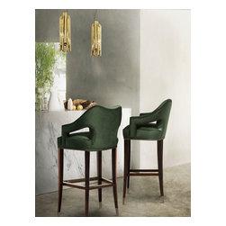 EANDA   Bar  chair - EANDA Modern Bar Chair has a soft velvet touch to change the way human live. For more information info@brabbu.com