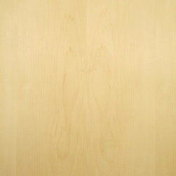 Flat Cut Maple Veneer - Flat cut Maple veneer, sometimes referred to as white Maple, is tight grain and fine texture white to very light shades of tan in color. Available in a variety of backers and sizes.